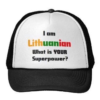 soy lituano gorras