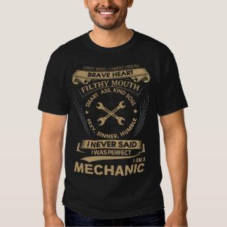 Soy mecánico camisetas