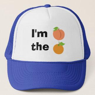 Soy melocotón el naranja gorro