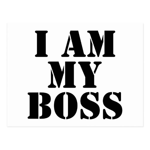 Soy mi Boss. Lema Postales