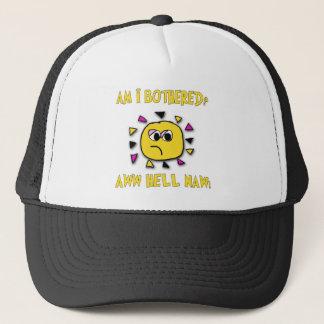 Soy molesté el infierno del aww naw-oscuro gorra de camionero