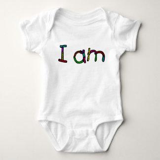 Soy mono del jersey del bebé