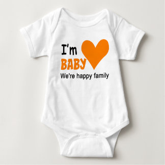 Soy mono del jersey del bebé de los pares de la