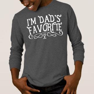 Soy oscuridad del hijo preferido del papá camiseta