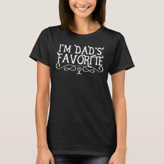 Soy oscuridad preferida de la hija del papá camiseta