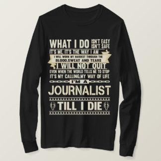 Camiseta Soy PERIODISTA. Camiseta del regalo