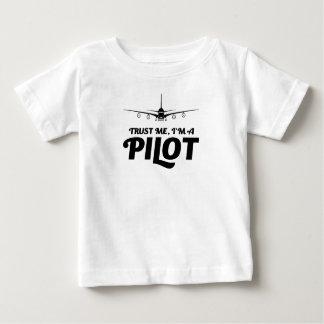 Soy piloto camiseta de bebé
