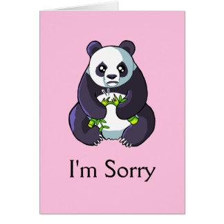 Soy plantilla triste linda triste de la tarjeta de