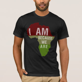 Soy porque somos - camisa de África