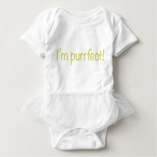 ¡Soy purrfect! Body Para Bebé