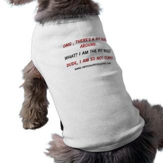 ¿Soy QUÉ??? Camiseta Sin Mangas Para Perro
