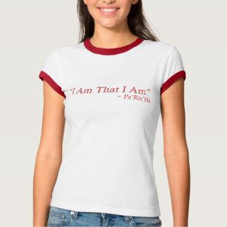 Soy que soy mujeres de la cita camisetas