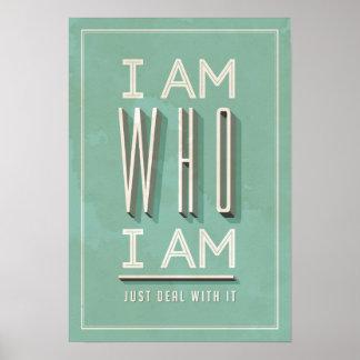 Soy quién soy póster