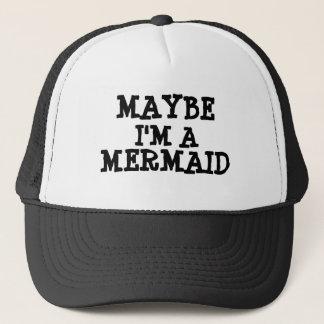 Soy quizá un gorra de béisbol de la sirena
