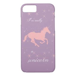 Soy realmente un caso del iPhone del unicornio Funda iPhone 7