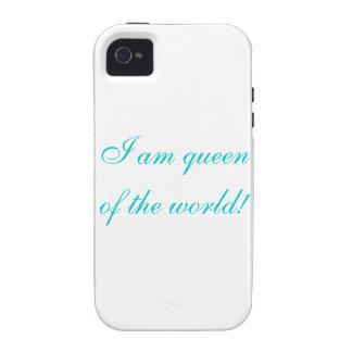 ¡Soy reina del mundo! iPhone 4/4S Carcasa