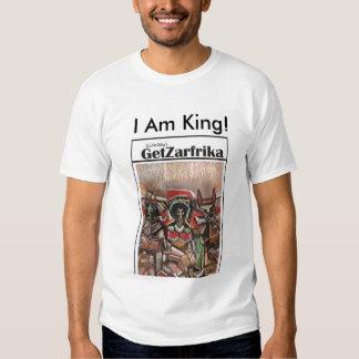 ¡Soy rey! Camisetas