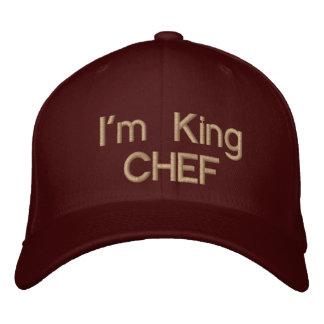 ¡Soy rey CHEF! Béisbol C del _Custom Gorros Bordados