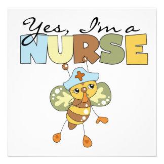 Soy SÍ camisetas y regalos de una enfermera Comunicados