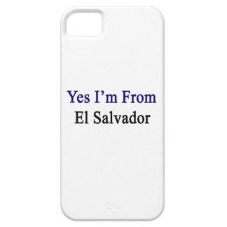 Soy sí de El Salvador iPhone 5 Coberturas