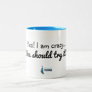 Soy sí taza loca
