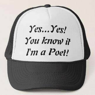 ¡Soy sí un gorra del camionero del poeta! …