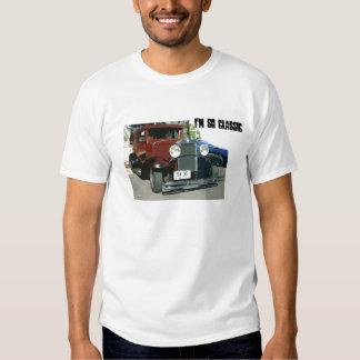 Soy tan clásico, camisa del auto del vintage 1931