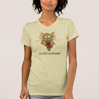 Soy TAN confuso, la camiseta del jersey de las