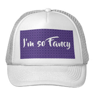 *** Soy *** tan de lujo del gorra