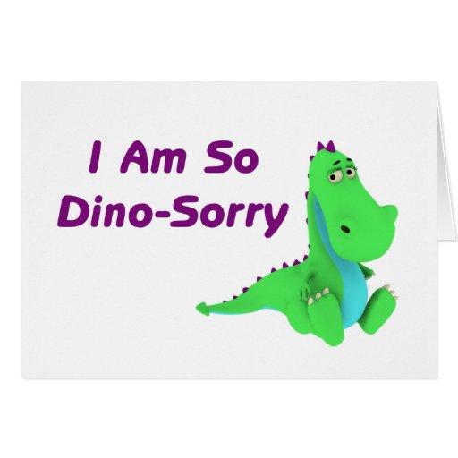 Soy tan dinosaurio triste de Dino Tarjeton