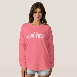 Soy TAN jersey lindo de la cita de NUEVA YORK [SU