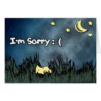 Soy tarjeta triste - estrella caida