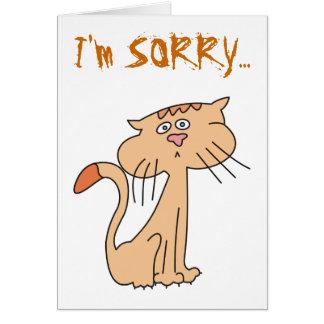 Soy tarjetas de felicitación tristes tristes del