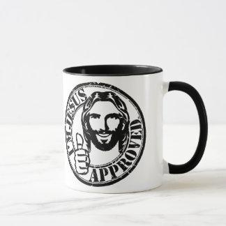Soy taza de café aprobada Jesús