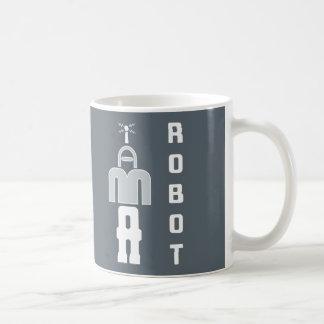 """SOY taza del rompecabezas de un ROBOT"""