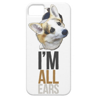 Soy todos los oídos - caso del Corgi iPhone5/5S iPhone 5 Funda