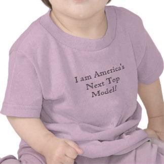 ¡Soy Top Model siguiente de América! Camisetas