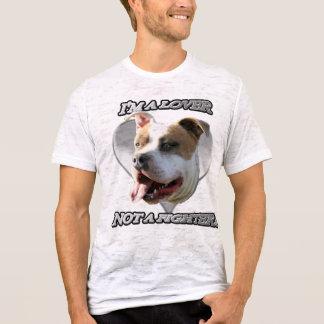 Soy un amante no una camisa del pitbull del