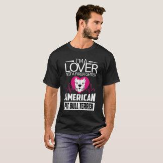 Soy un amante no una camiseta de Terrier de