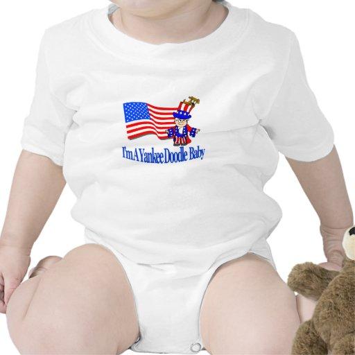 ¡Soy un bebé del Doodle del yanqui! Camisetas