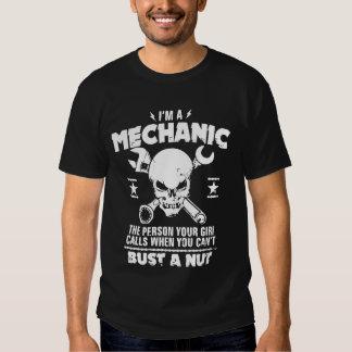 Soy un busto del mecánico a la nuez camisas