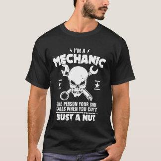 Soy un busto del mecánico a la nuez camiseta