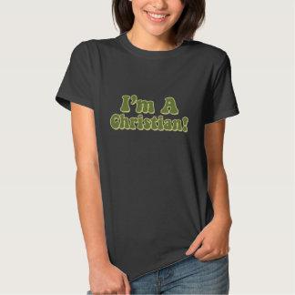 Soy un cristiano camisetas