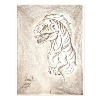 Soy un dinosaurio postal