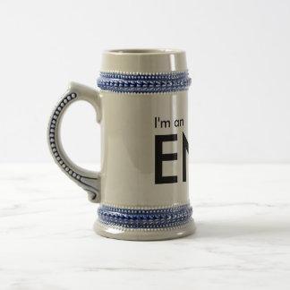Soy un ENFJ - tipo de personalidad cerveza Stein Jarra De Cerveza