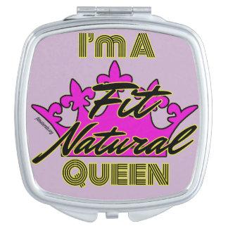 Soy un espejo natural del acuerdo de la reina del