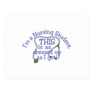 Soy un estudiante del oficio de enfermera que éste postal