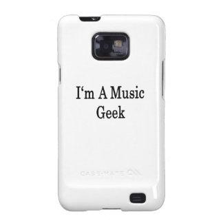 Soy un friki de la música galaxy s2 fundas