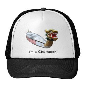 Soy un gorra del barco del dragón del campeón