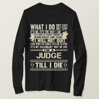 Camiseta Soy un JUEZ. Camiseta del regalo